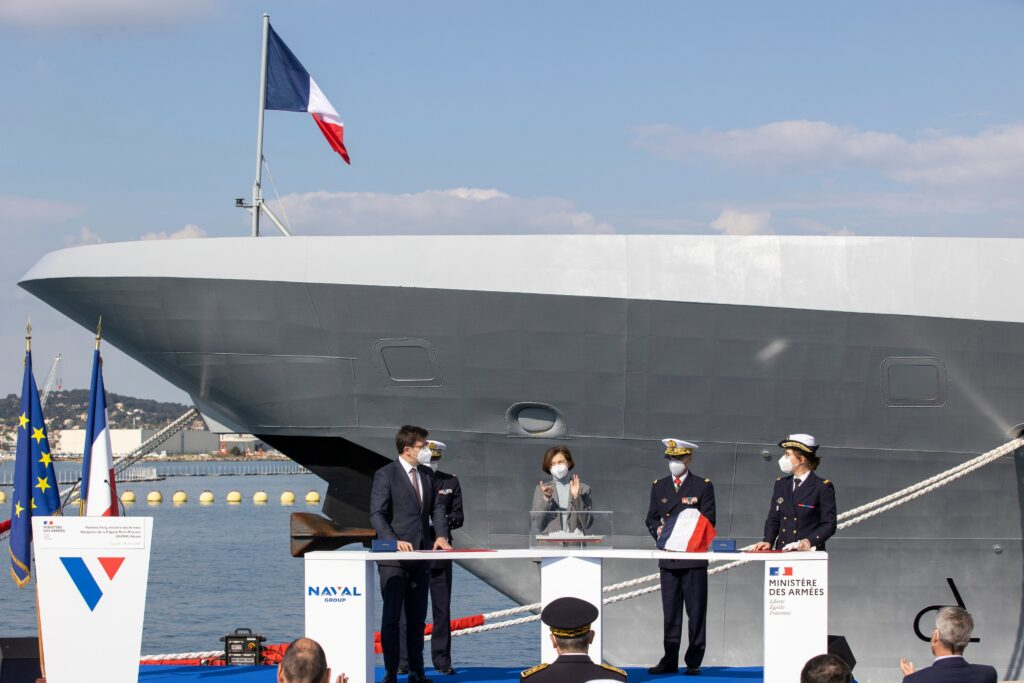 alsace delivery ceremony - naval post- naval news and information