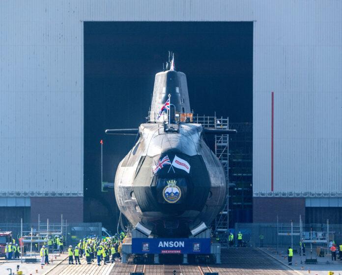 Anson - Astute Class Submarine