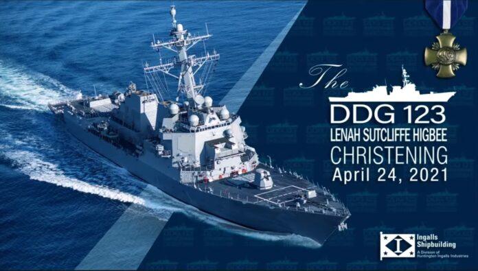 USS Lenah Sutcliffe Higbee (DDG 123)