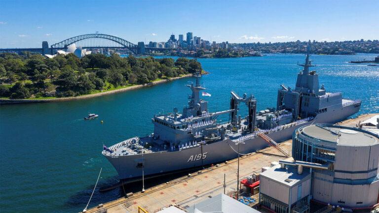 Royal Australian Navy commissions HMAS Supply (II)