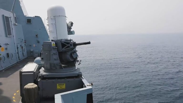 Babcock to continue supporting Phalanx close-in weapon systems in the Royal Navy