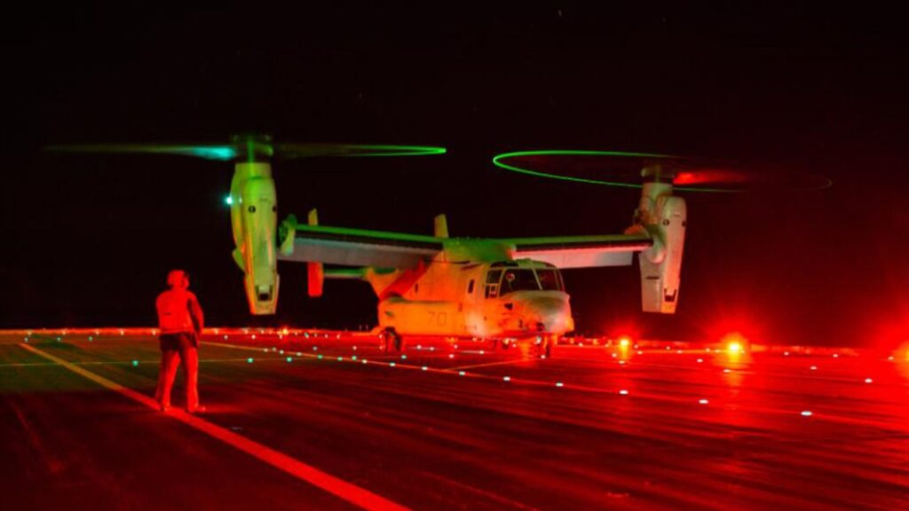 mv 22b cavour top - naval post- naval news and information