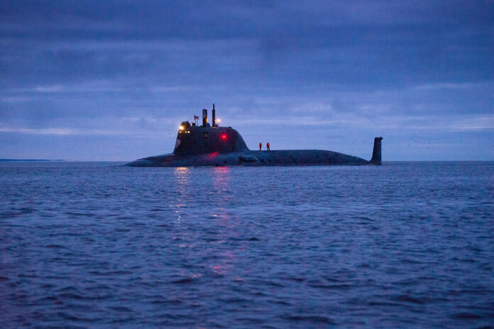 Russian Navy's Project 885M Yasen M Class Submarine Kazan