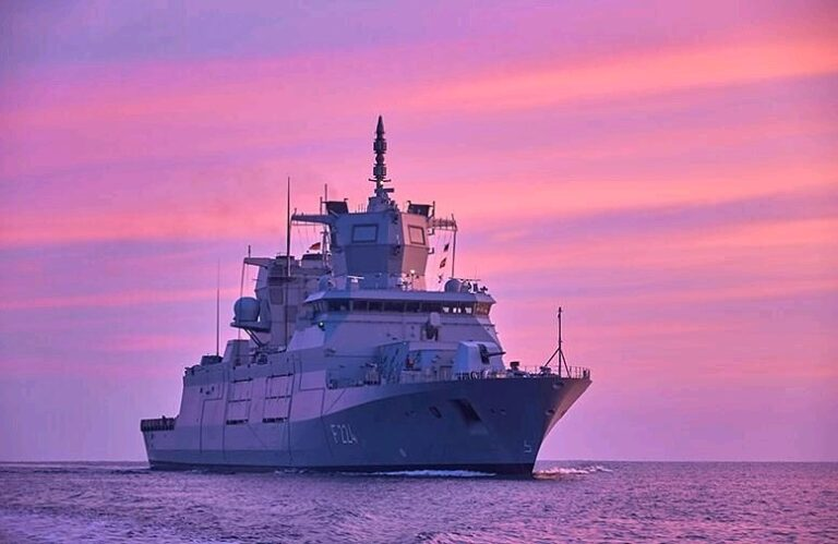 German Navy Commissions Its Third F125 Frigate,  Sachsen-Anhalt
