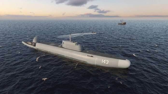 Submersible Patrol Vessel