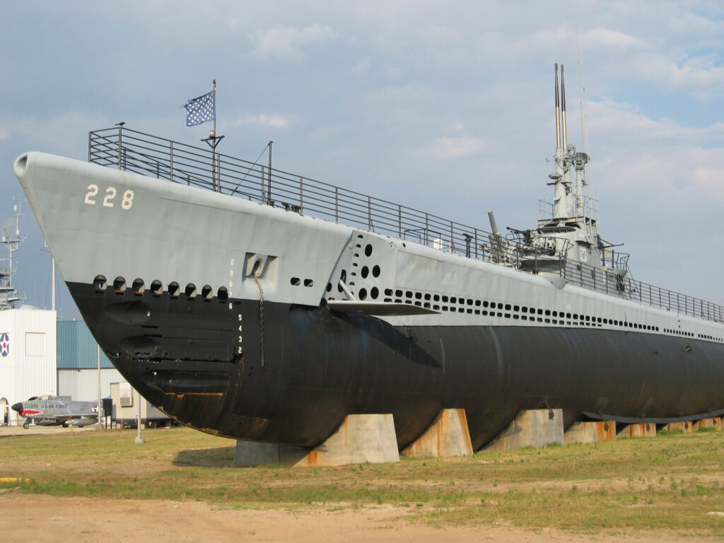 uss drum ss 228 in mobile - naval post- naval news and information