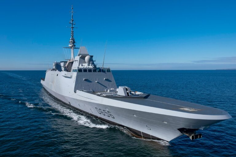 """FREMM """"Alsace"""" frigate delivered to French Navy"""