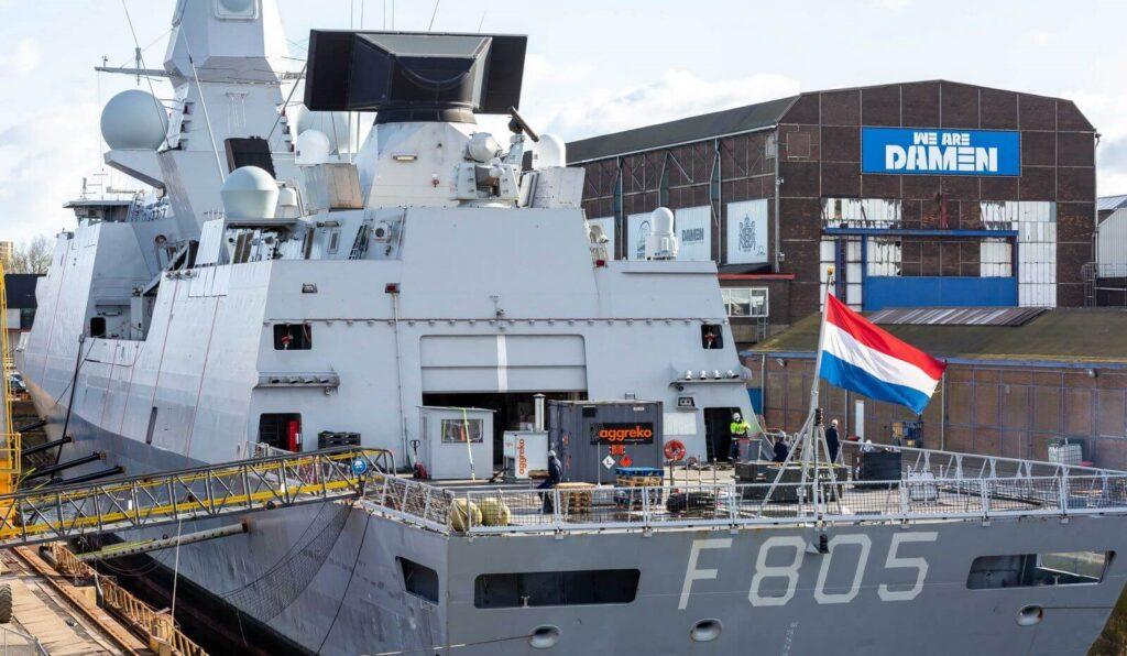 dsam readies hnlms evertsen 2 - naval post- naval news and information