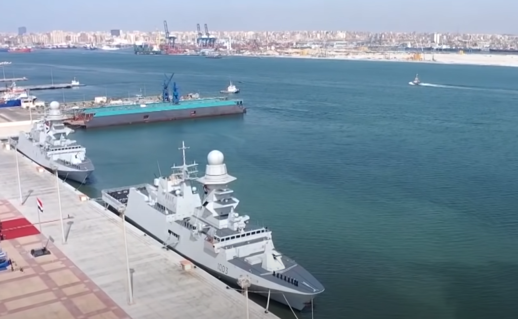 fremm bergamini egyptian navy ens al galala ens bernees - naval post- naval news and information