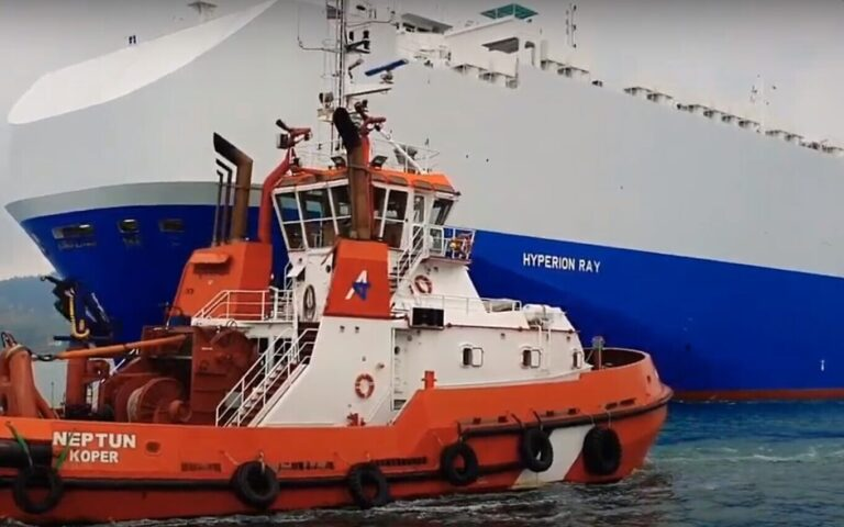 """Israeli-owned """"Hyperion Ray"""" vessel hit in attack near Fujairah UAE"""