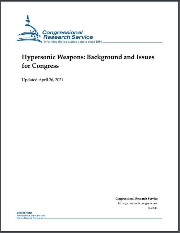hypersonic report - naval post