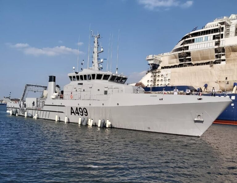 OCEA delivers offshore survey vessel NNS LANA to the Nigerian Navy
