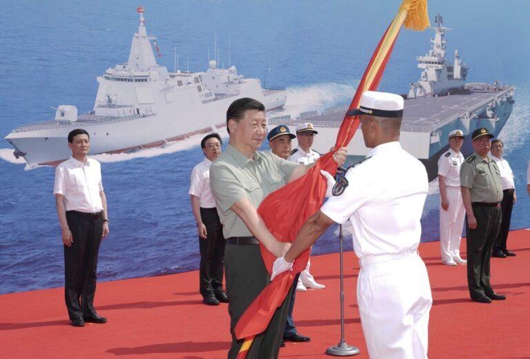 China Commissions Three Naval Vessels
