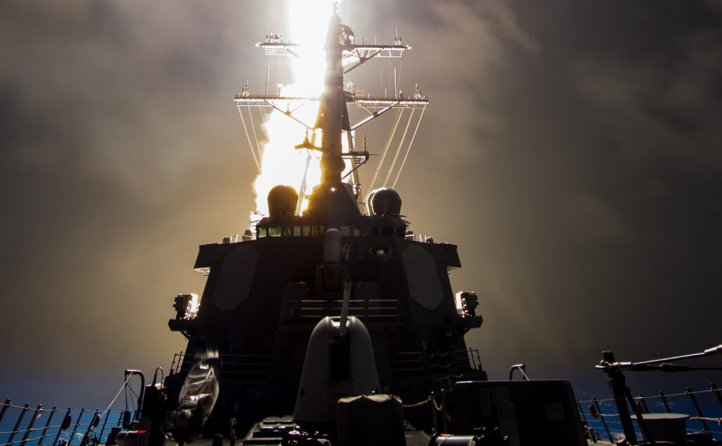 the sm-6 missile can perform anti-air warfare, ballistic missile defense and anti-surface warfare missions. (photo: missile defense agency)