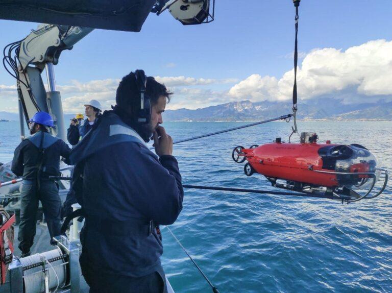 SNMCMG2 participates in the Italian-led exercise ITA MINEX