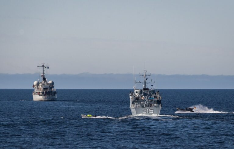 NATO's Standing Maritime Groups exercise together in the Baltic Sea
