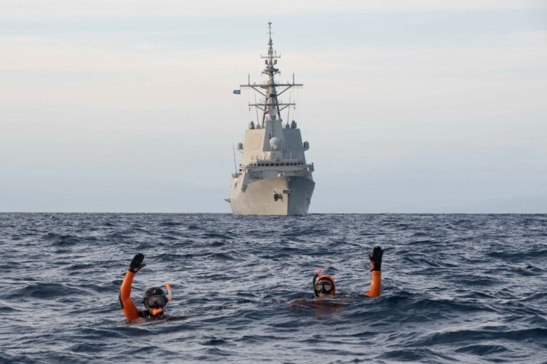 Standing NATO Maritime Group Two participates in PHIBEX 21