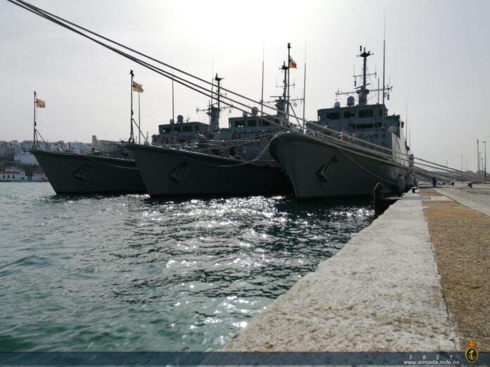 Spanish MINEX participants (Photo: Spanish Navy)