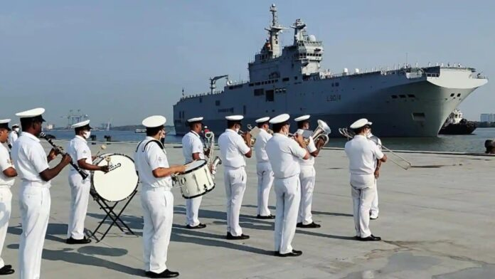 French warships arrive in Kochi ahead of joint naval exercise
