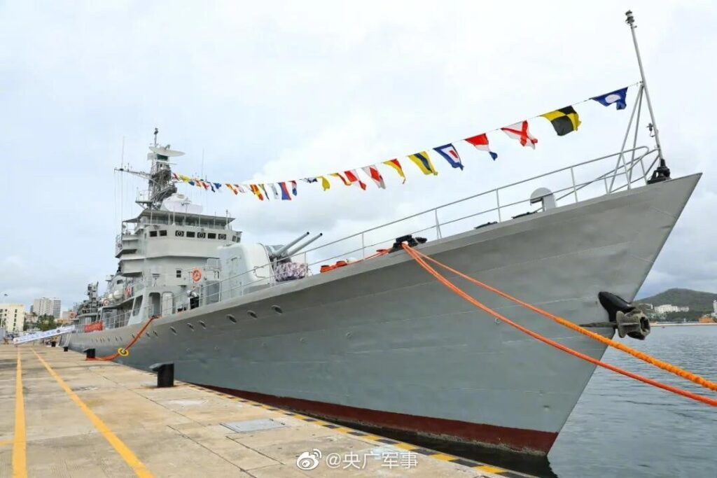 type053h1 zhaotong 555 2 - naval post- naval news and information