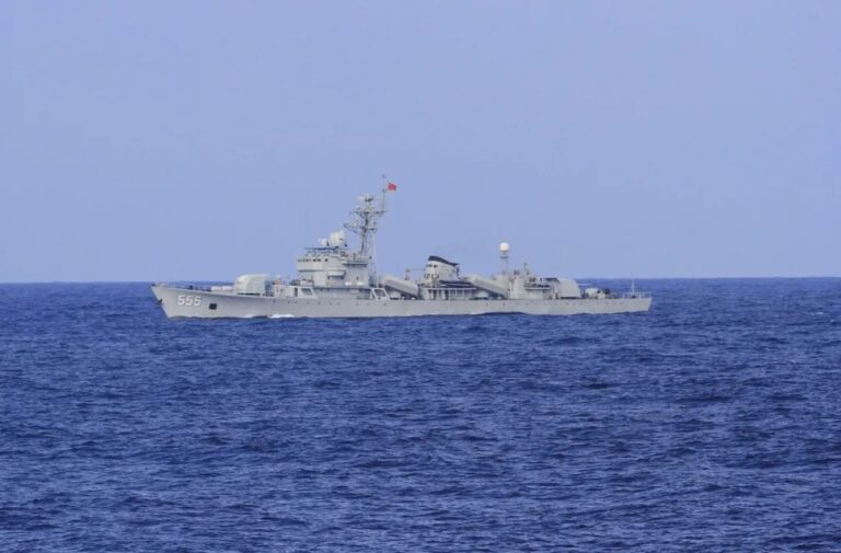 Chinese Navy decommissions Type 053H1 frigate Zhaotong