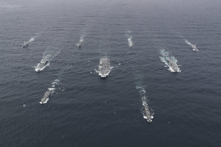 UK Carrier Strike Group to set sail for Asia next month