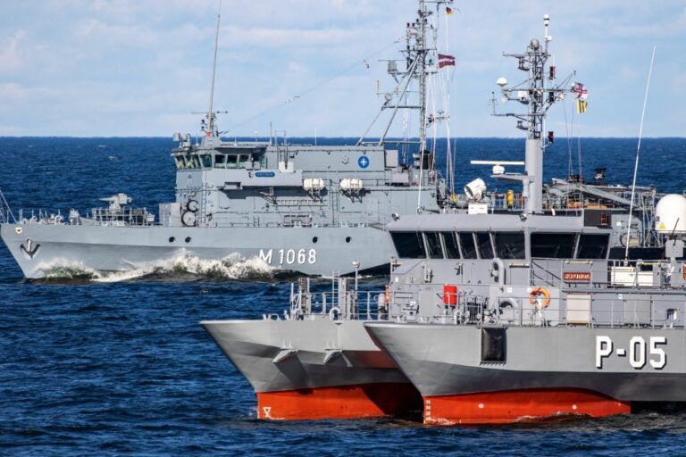 NATO Mine Countermeasures force conducts dispose of historical ordnance in Latvia