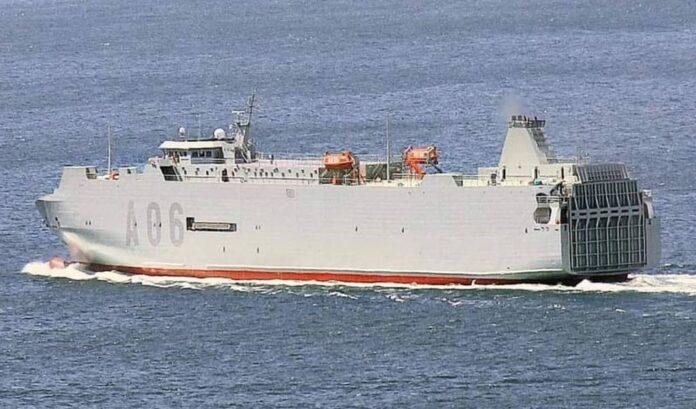 Spanish Navy's Reina Ysabel A-06