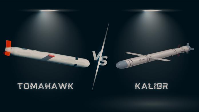 tomahawk missile kalibr
