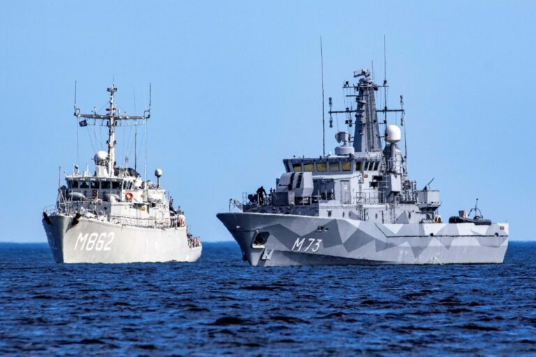 NATO MCM Group clear mines in the Baltic Sea during Open Spirit Ops