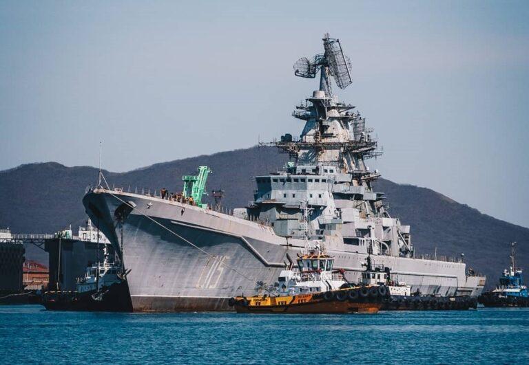 Nuclear Battlecruiser Admiral Lazarev Reaches Her Final Destination