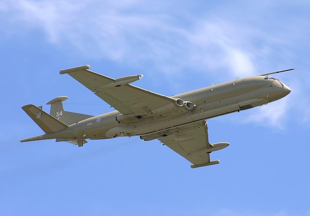 british aerospace nimrod mr.2 united kingdom royal air force raf jp506967 - naval post- naval news and information