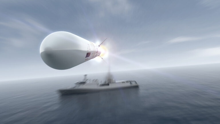 The UK selects MBDA's Sea Ceptor for Type 31 frigates