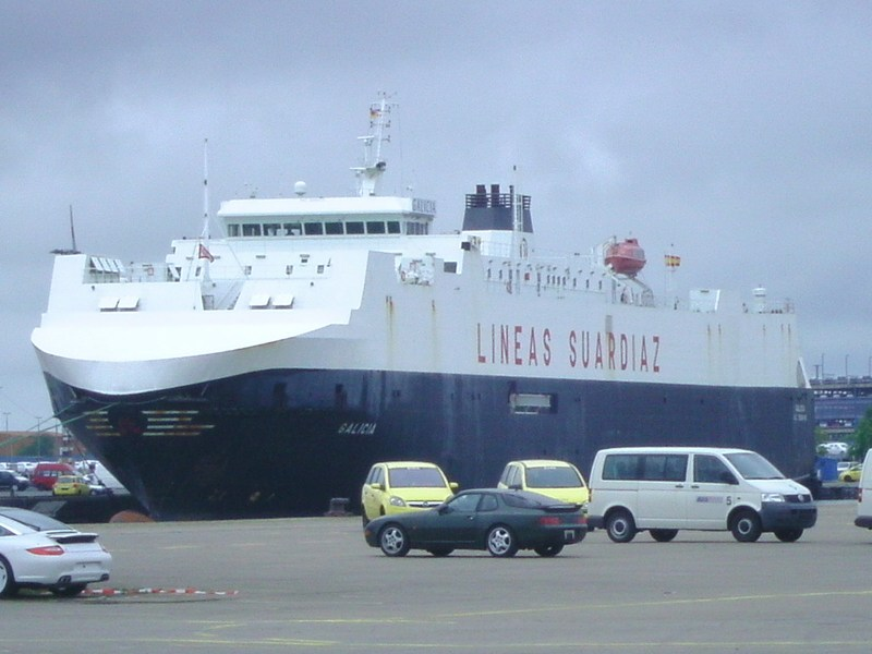 car carrier galicia 1 - naval post