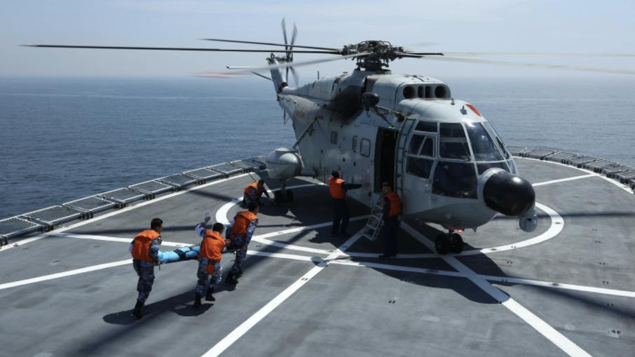 chinese navy holds submarine rescue - naval post