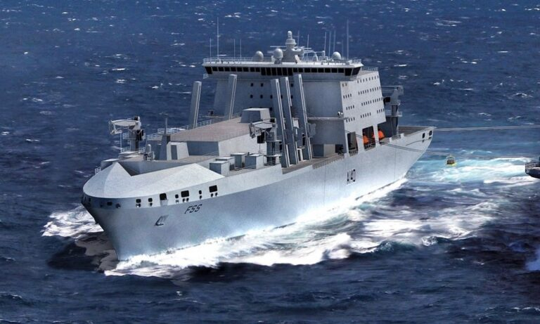 UK MoD launched a competition for Fleet Support Ship