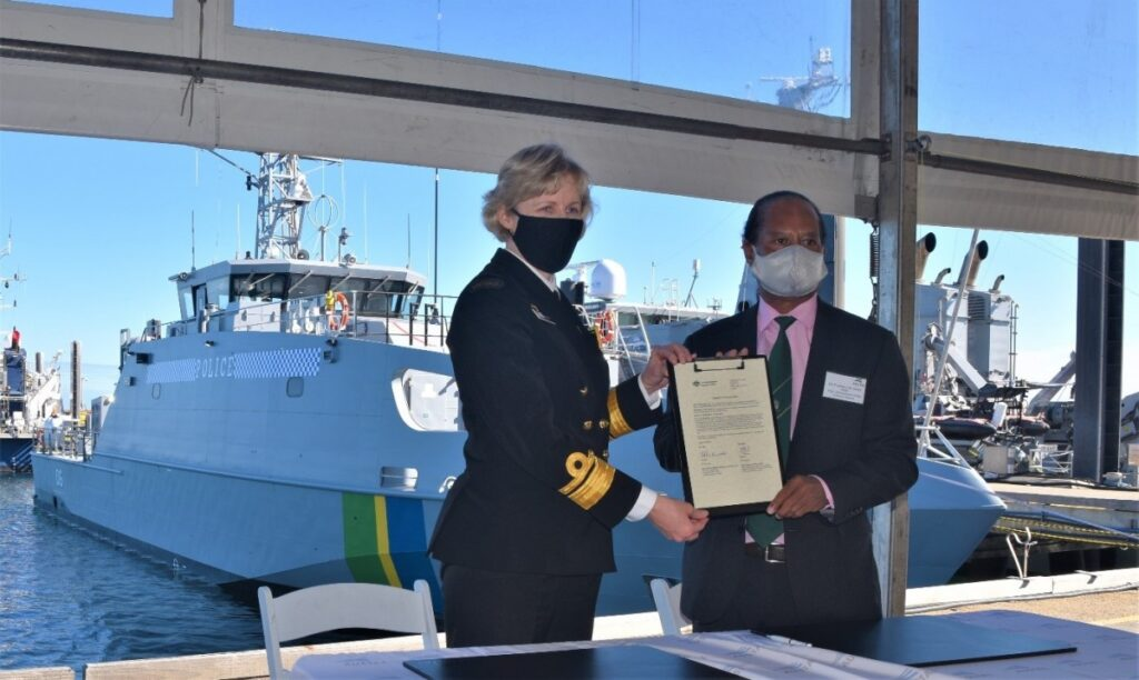 austal australia delivers 10th guardian-class patrol boat