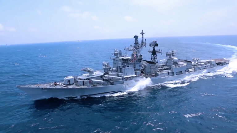 Indian Navy decommissions its 1st guided-missile destroyer, INS Rajput