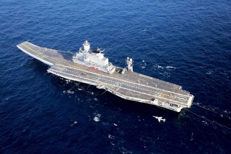 Fire Onboard INS Vikramaditya