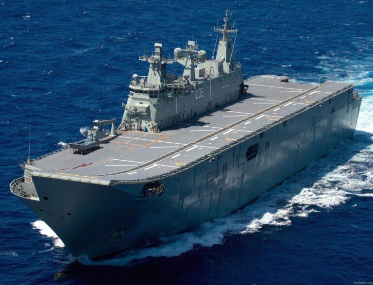 HENSOLDT overhauls HMAS Canberra's IFF system