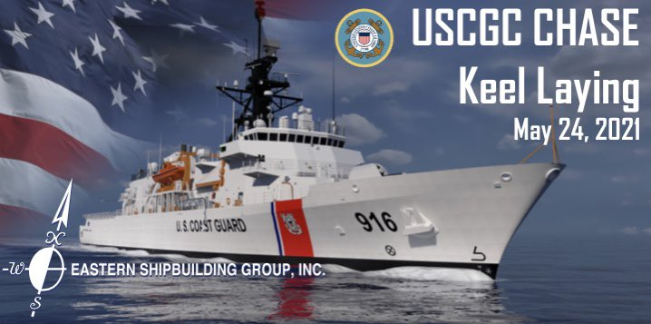 opc chase keel laying - naval post- naval news and information