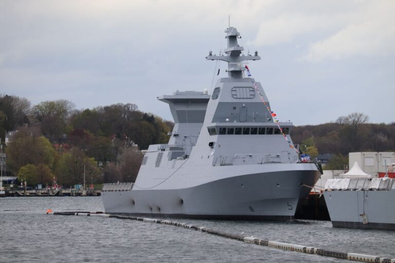 TKMS hands over 2nd Sa'ar 6 corvette to the Israeli Navy