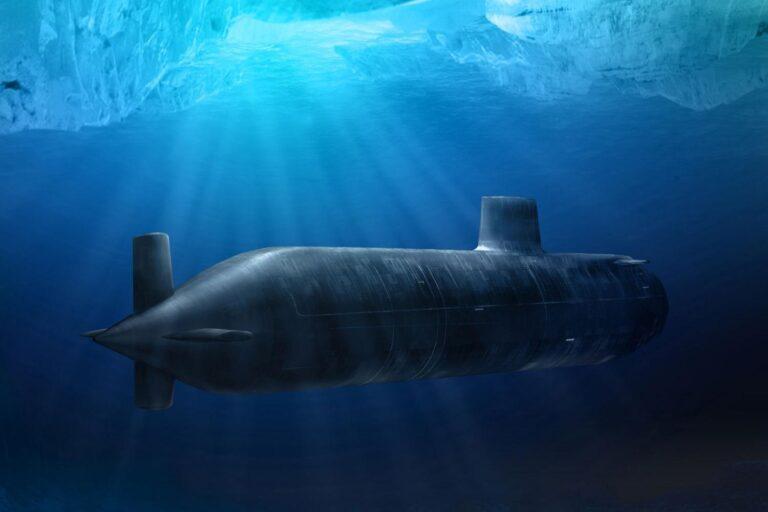 How do the submarines navigate underwater?