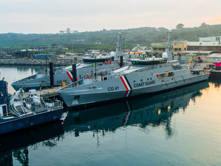 Austal delivers 2 Cape-class boats to Trinidad & Tobago coast guard