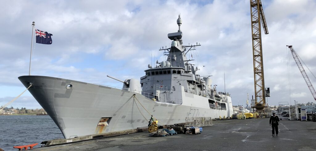 te kaha 02 - naval post- naval news and information