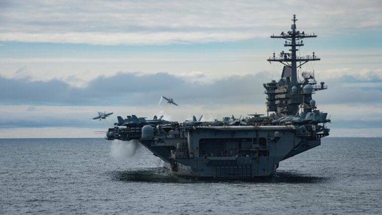 U.S. Theodore Roosevelt Carrier Strike Group Begins Exercise Northern Edge 2021