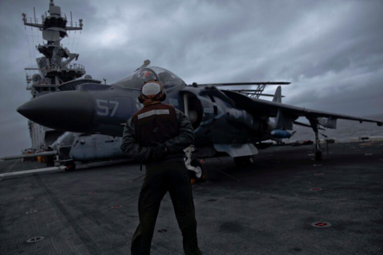 USMC Jets Conduct Long-Range Strike Exercise