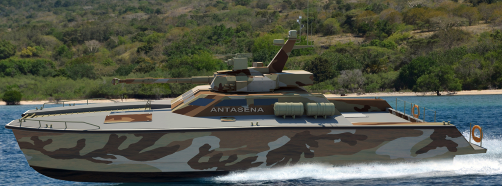 x 18 tank boat - naval post- naval news and information