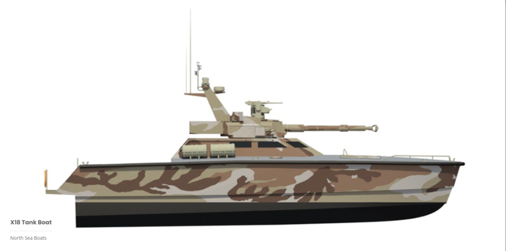 x 18 tank boat 2 - naval post- naval news and information