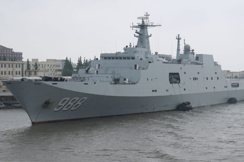 yimengshan type 071 - naval post- naval news and information